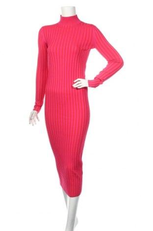 Šaty  Zara, Rozměr S, Barva Růžová, 51% polyester, 49% polyamide, Cena  855,00Kč