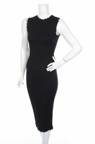 Šaty  Zara, Veľkosť S, Farba Čierna, 64% viskóza, 36% polyamide, Cena  29,73€