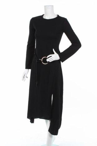 Rochie Zara, Mărime S, Culoare Negru, 96% poliester, 4% elastan, Preț 103,95 Lei