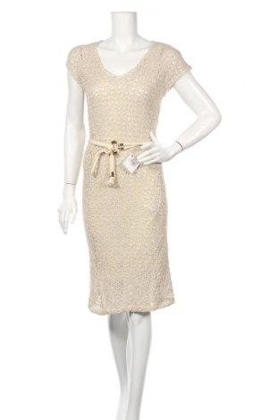 Φόρεμα Zara, Μέγεθος S, Χρώμα  Μπέζ, 88% βαμβάκι, 12% πολυεστέρας, Τιμή 27,46€