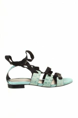 Sandale Versace 19.69 abbigliamento sportivo, Mărime 40, Culoare Verde, Piele naturală, Preț 385,00 Lei