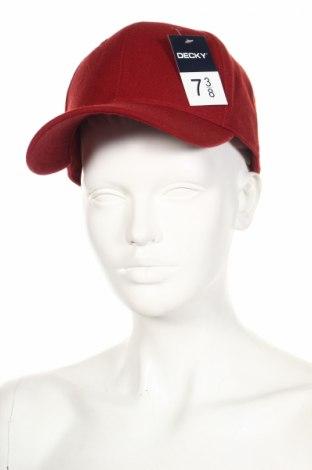 Čepice  Decky, Barva Červená, Akryl , Cena  142,00Kč
