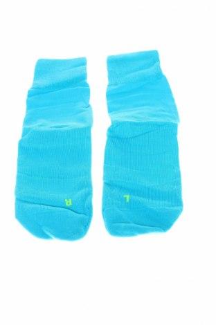 Спортни чорапи Falke, Размер S, Цвят Зелен, 80% памук, 20% полиамид, Цена 16,56лв.
