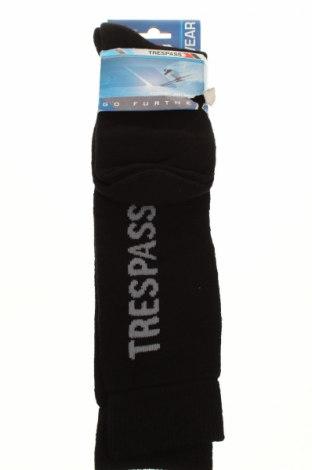 Спортни чорапи Trespass, Размер S, Цвят Черен, 40% мерино, 40% акрил, 20% полиамид, Цена 19,38лв.