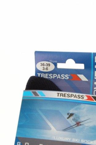 Спортни чорапи Trespass, Размер S, Цвят Син, 40% мерино, 40% акрил, 20% полиамид, Цена 19,72лв.