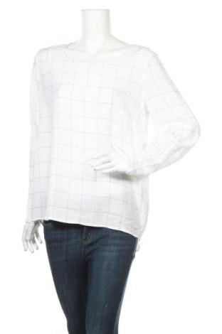 Дамска блуза Mark Adam, Размер L, Цвят Бял, Вискоза, Цена 5,78лв.