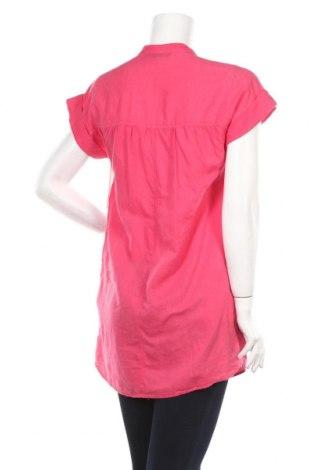 Τουνίκ Zara, Μέγεθος S, Χρώμα Ρόζ , 50% βαμβάκι, 50% λινό, Τιμή 9,65€
