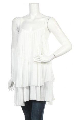 Tunika Zara, Rozmiar M, Kolor Biały, Poliester, Cena 74,73zł