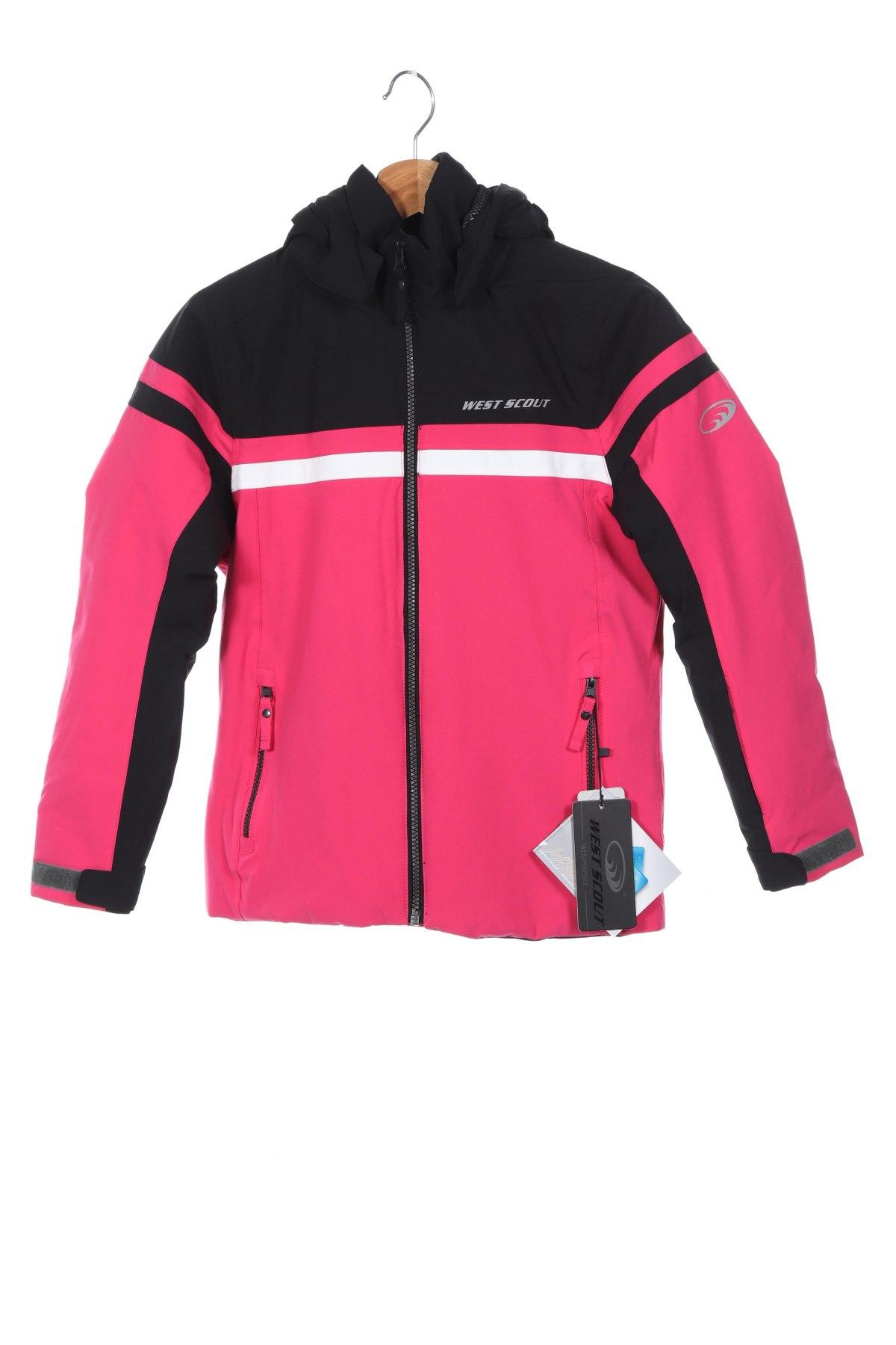 Детско яке за зимни спортове West Scout, Размер 11-12y/ 152-158 см, Цвят Розов, Цена 77,40лв.