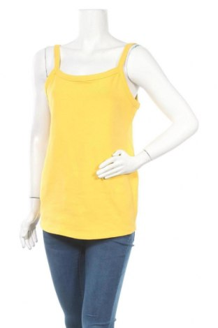 Дамски потник H&M Mama, Размер XL, Цвят Жълт, 95% памук, 5% еластан, Цена 12,97лв.