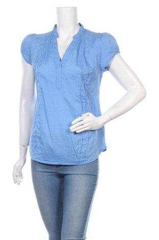 Блуза за бременни H&M Mama, Размер M, Цвят Син, 38% вискоза, 29% полиестер, 29% полиамид, 4% еластан, Цена 18,00лв.