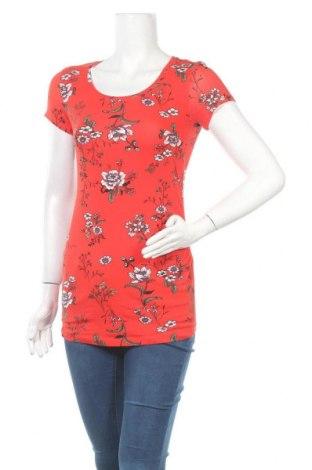 Блуза за бременни H&M Mama, Размер S, Цвят Червен, 95% памук, 5% еластан, Цена 18,90лв.