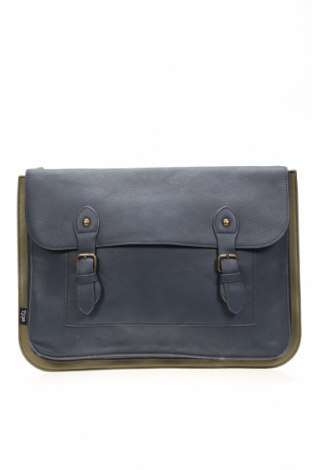 Τσάντα χαρτοφύλακας, Χρώμα Μπλέ, Δερματίνη, Τιμή 10,98€