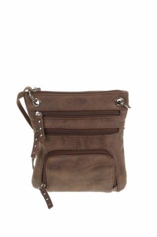 Дамска чанта Marikai, Цвят Кафяв, Еко кожа, Цена 15,02лв.