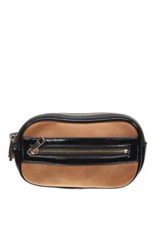 Чанта за кръст Seed, Цвят Черен, Еко кожа, Цена 25,88лв.