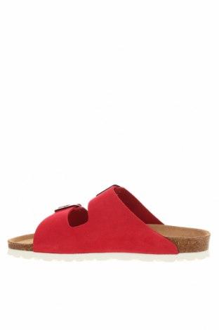 Чехли Sunbay, Размер 38, Цвят Червен, Естествен велур, Цена 68,54лв.