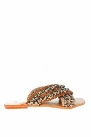 Papuci W.S Shoes, Mărime 38, Culoare Multicolor, Textil, Preț 120,89 Lei