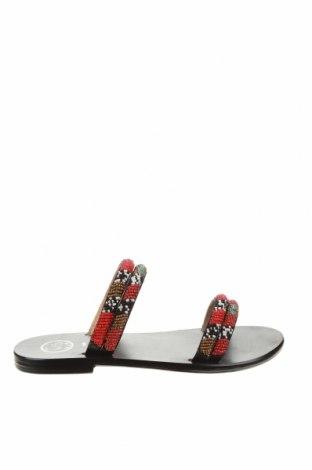 Papuci White Sun, Mărime 38, Culoare Multicolor, Piele naturală, textil, Preț 224,70 Lei