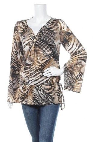 Дамска блуза, Размер M, Цвят Многоцветен, 95% полиестер, 5% еластан, Цена 6,09лв.