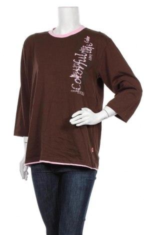 Дамска блуза, Размер XL, Цвят Кафяв, Цена 10,41лв.
