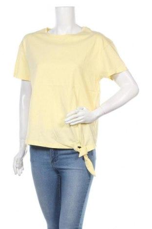 Γυναικεία μπλούζα, Μέγεθος XL, Χρώμα Κίτρινο, Βαμβάκι, Τιμή 1,59€