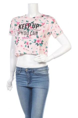 Дамска блуза Adidas Neo, Размер S, Цвят Розов, Полиестер, Цена 27,30лв.