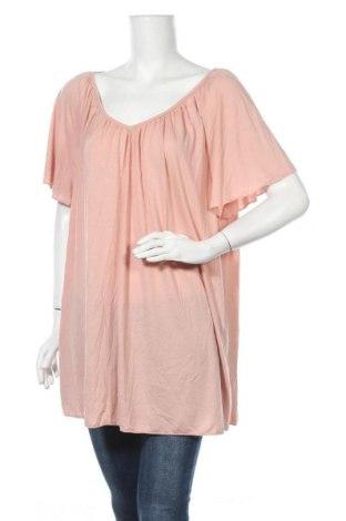 Дамска блуза Alexia, Размер 3XL, Цвят Розов, Полиестер, вискоза, Цена 13,39лв.