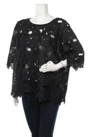 Дамска блуза Alexia, Размер XXL, Цвят Черен, Полиестер, Цена 30,45лв.