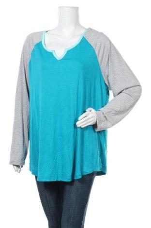 Дамска блуза Alexia, Размер XXL, Цвят Син, Полиестер, вискоза, Цена 19,32лв.