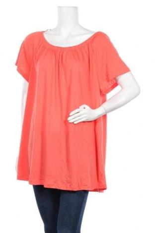 Дамска блуза Alexia, Размер XXL, Цвят Оранжев, Полиестер, вискоза, Цена 11,03лв.