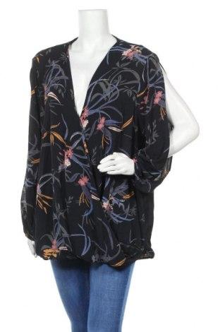 Дамска блуза Alexia, Размер 3XL, Цвят Син, Полиестер, еластан, Цена 27,93лв.