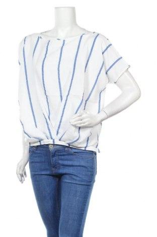 Дамска блуза Amy Vermont, Размер M, Цвят Бял, 56% вискоза, 38% полиестер, 6% памук, Цена 15,30лв.