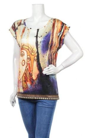 Дамска блуза Amy Vermont, Размер L, Цвят Многоцветен, Полиестер, Цена 17,85лв.