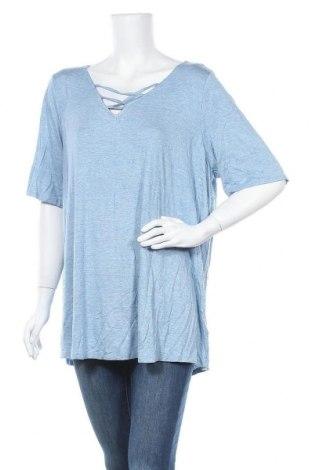 Γυναικεία μπλούζα Autograph, Μέγεθος XXL, Χρώμα Μπλέ, 95% βισκόζη, 5% ελαστάνη, Τιμή 3,51€