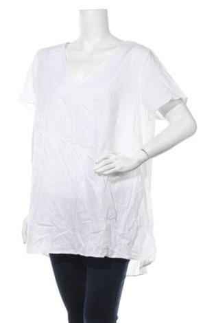 Γυναικεία μπλούζα Autograph, Μέγεθος XXL, Χρώμα Λευκό, 55% βαμβάκι, 45% λινό, Τιμή 35,07€