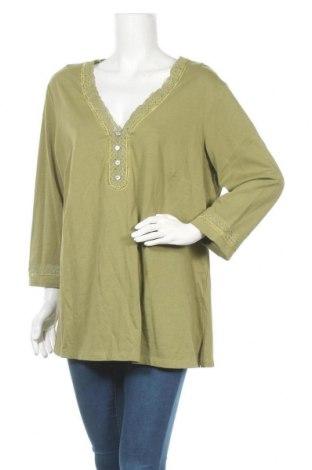 Γυναικεία μπλούζα Autograph, Μέγεθος XXL, Χρώμα Πράσινο, Βαμβάκι, Τιμή 11,11€