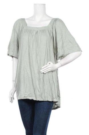 Γυναικεία μπλούζα Autograph, Μέγεθος XXL, Χρώμα Πράσινο, 60% βαμβάκι, 40% μοντάλ, Τιμή 18,70€