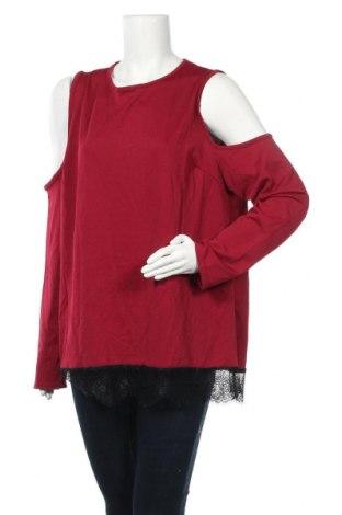 Дамска блуза B.You, Размер XL, Цвят Червен, 95% полиестер, 5% еластан, Цена 25,50лв.