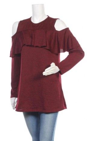 Дамска блуза B.You, Размер L, Цвят Червен, 95% полиестер, 5% еластан, Цена 15,18лв.