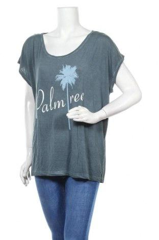 Дамска блуза Beach Time, Размер XXL, Цвят Син, 95% вискоза, 5% еластан, Цена 19,60лв.