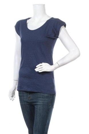 Дамска блуза Beach Time, Размер XS, Цвят Син, 50% вискоза, 50% памук, Цена 23,12лв.