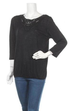 Дамска блуза Beach Time, Размер XL, Цвят Черен, Вискоза, Цена 24,70лв.