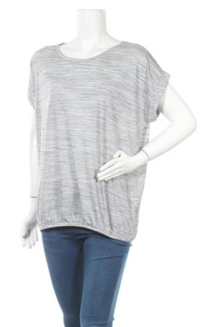 Дамска блуза Beach Time, Размер L, Цвят Сив, 85% полиестер, 15% еластан, Цена 23,12лв.