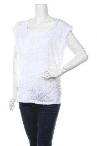 Дамска блуза Beach Time, Размер L, Цвят Бял, 66% полиестер, 34% памук, Цена 23,12лв.