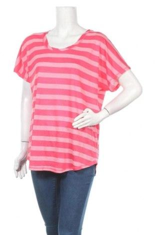 Дамска блуза Beach Time, Размер XL, Цвят Розов, 59% вискоза, 28% полиестер, 13% памук, Цена 19,60лв.