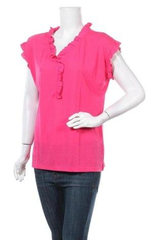 Дамска блуза Beach Time, Размер XL, Цвят Розов, 65% полиестер, 35% вискоза, Цена 23,80лв.