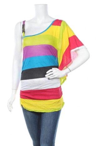 Дамска блуза Bongo, Размер L, Цвят Многоцветен, Вискоза, Цена 12,29лв.