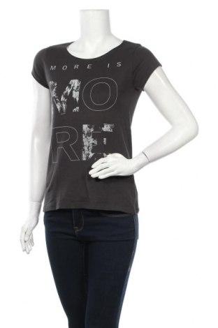 Дамска блуза Broadway, Размер M, Цвят Сив, Памук, Цена 16,07лв.