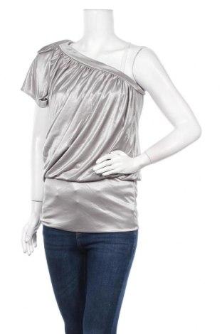 Дамска блуза Charlotte Russe, Размер S, Цвят Сив, 100% полиестер, Цена 7,14лв.