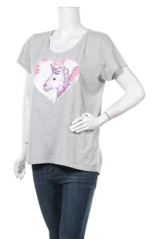 Дамска блуза Colours Of The World, Размер XL, Цвят Сив, 50% памук, 50% полиестер, Цена 7,09лв.